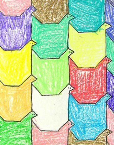 tesselation project 1 mth 97 - tessellation project guidance create your own tessellation the appearance of your tessellation should be neat your tessellation (pattern) should cover the.