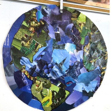 planet earth map school project - photo #43